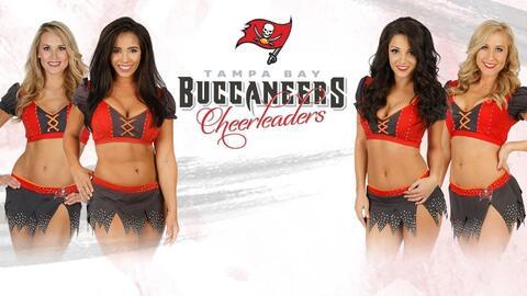 Este es el roster de bellezas que animarán a los Tampa Bay Buccan...