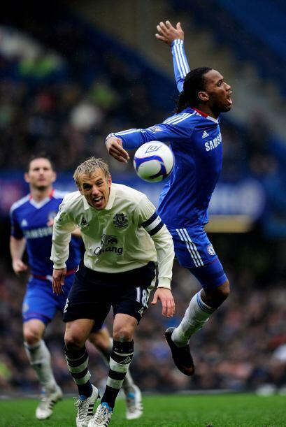 Su club chocó con el Chelsea en la FA Cup y se fueron hasta los penaltis.