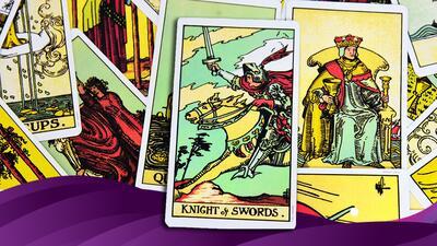 El caballero de espadas del tarot: ¿qué significa y qué te enseña?
