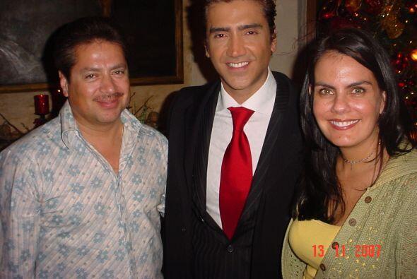 Noviembre del 2007 durante el especial navideño