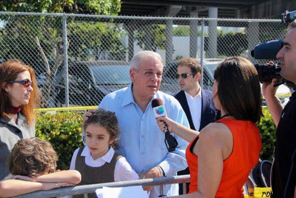 El alcalde de Miami, Tomás Regalado es entrevistado por nuestra a...