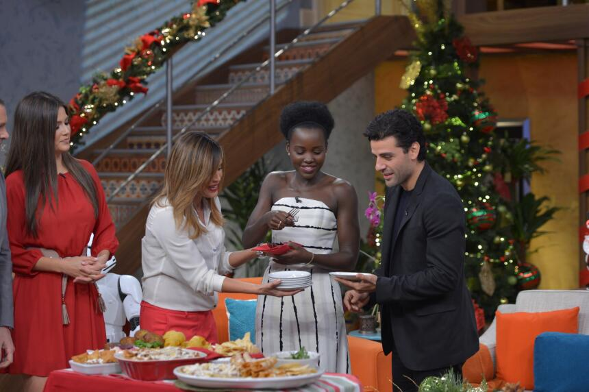 Lupita Nyong'o y Oscar Isaac en Despierta