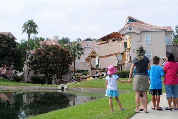 En abril pasado, las autoridades tuvieron que evacuar una vivienda debid...