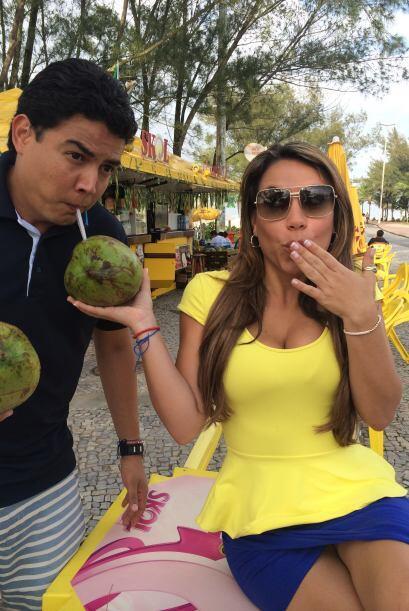 La guapa reportera de Univision Deportes no podía creer que Orlando fuer...
