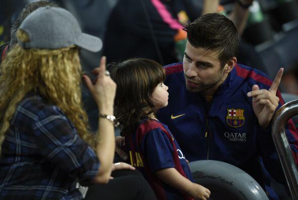 """Y ahora """"Milan quedate con mami que yo me voy a jugar""""."""