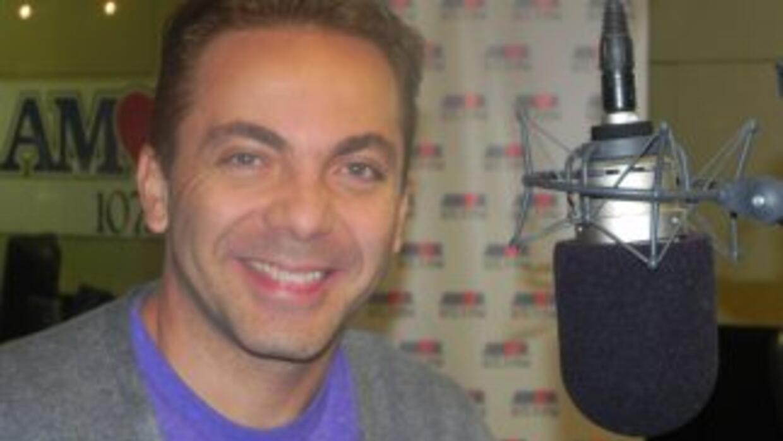Crisitian Castro en Amor 107.5 FM.