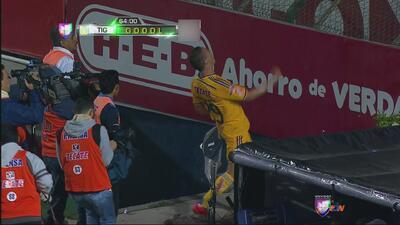 Tigres 1-0 Morelia: Los felinos hunden más a Tena y sus Monarcas