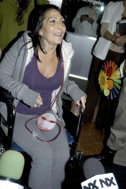 En 2012 permaneció hospitalizada por 30 días pues se le realizaron diver...