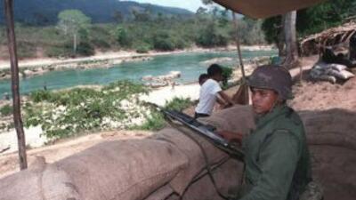 El ejército mexicano halló un campo de entrenamiento de sicarios en el e...