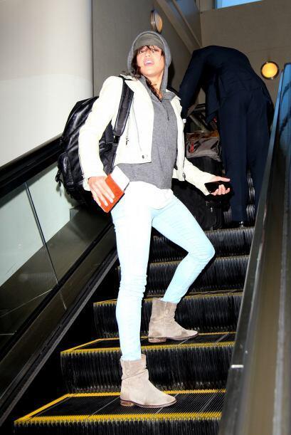 Hay prendas bastante buenas en el atuendo de Michelle Rodriguez, el prob...