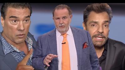 Raúl de Molina,  Eduardo Yáñez y Eugenio Derbez.