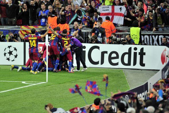 Barcelona ganaba y era merecido. Fue el único que impuso su estilo, busc...