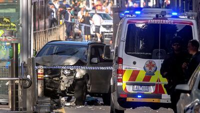 """En fotos: Atropello """"deliberado"""" en Melbourne causa más de una docena de heridos"""