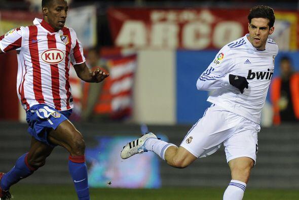 Kaká entró al juego y tuvo algunas oportunidades de marcar.