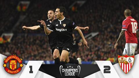 Marcador Manchester vs. Sevilla