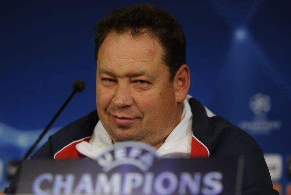 El entrenador del CSKA quiere que sus jugadores den la sorpresa completa.
