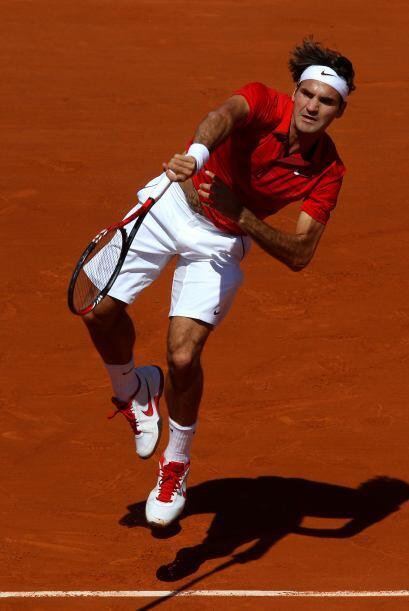 Federer fue claramente superior, con un servicio muy sólido ante el que...