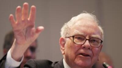 Warren Buffett fue uno de los únicos empresarios en invertir en la crisi...
