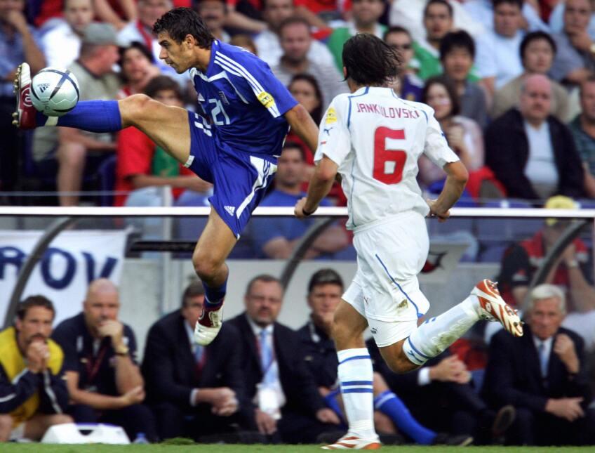 Cuando Grecia tocó el cielo en la Eurocopa de Portugal 2004 gettyimages-...