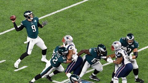 La mayoría de la gente apostó Eagles +4.5 y bajas de 49.5.
