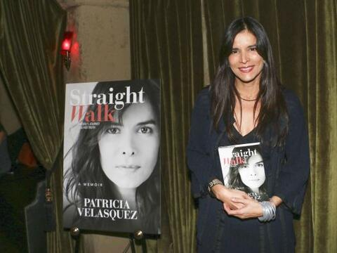 Patricia Velásquez celebró el lanzamiento de su libro 'Wal...