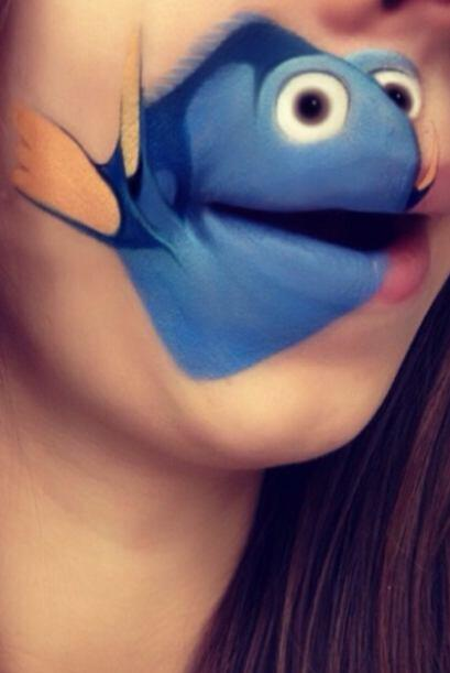 Dori, de la película Buscando a Nemo.