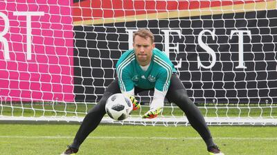 ¡Atención, México! Neuer será el titular de Alemania si se cuela a Rusia 2018