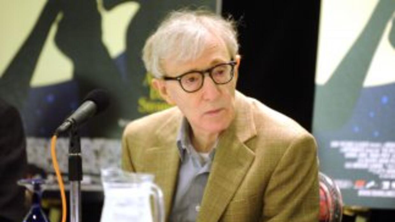 El afamado director de cine norteamericano, Woody Allen.