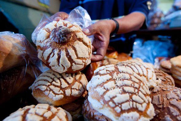 La tradición de panes en México es viejísima. Estas se llaman 'conchas'...