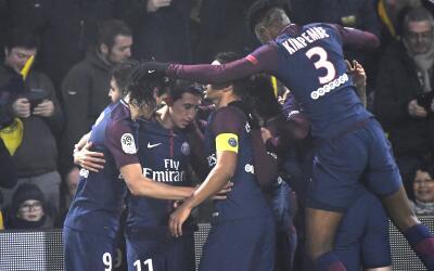 Di María anotó en combinación de Cavani y Mbapp&eac...
