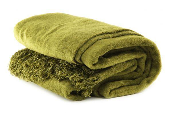 Estilo frazada. Una bufanda oversized te mantendrá calentita en c...