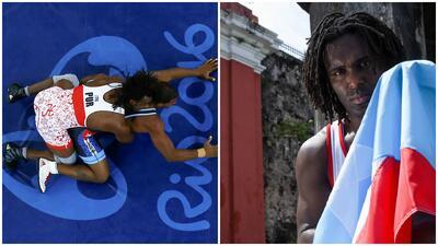 Jaime Espinal iba por el bronce, pero quedó eliminado
