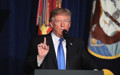 Donald Trump habla de estrategias para Afganistán sin detallar número de...