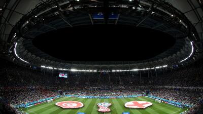 En fotos: Inglaterra debuta con éxito en Rusia 2018 con triunfo ante Túnez