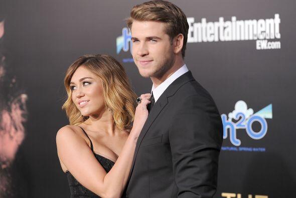 Miley Cyrus llevaba una relación muy estable con el actor  Liam Hemsworth.