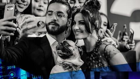 Selfies, reencuentros y hasta perros: las fotos exclusivas de Premio Lo...