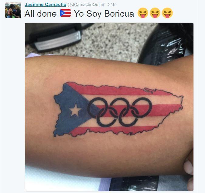 Tatujes olímpicos