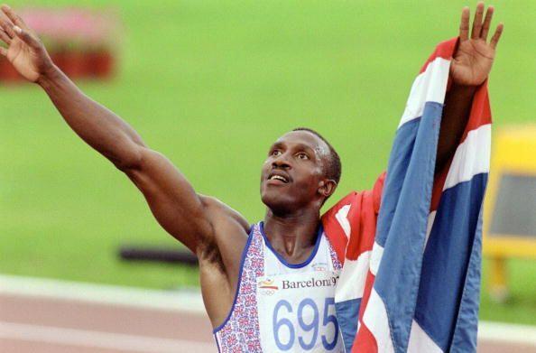Linford Christie (Juegos Olímpicos Atlanta 1996-Final 100m): El b...