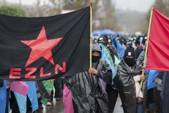 El movimiento ha emitido seis declaraciones desde la Selva Lacandona.