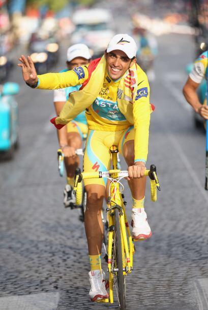Contador es el ciclista español más destacado desde el mítico Miguel Ind...