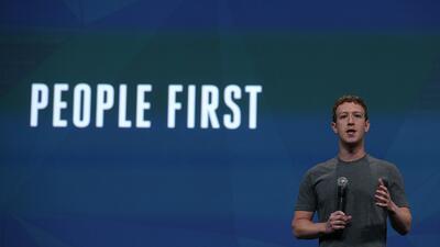 El CEO de Facebook se reservó el derecho a dejar la direcci&oacut...
