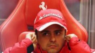 Felipe Massa piensa que en el circuito británico de Silverstone los Ferr...