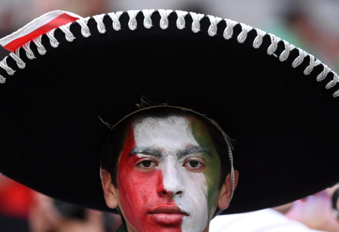 El color de los rostros en el fútbol y la historia detrás del maquillaje...