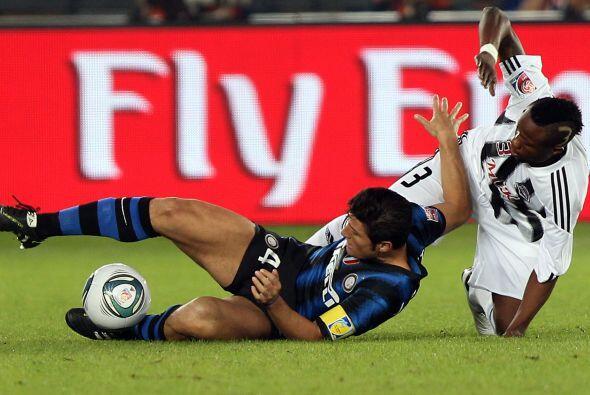 El comienzo del encuentro entre Inter de Milán y Mazembe mostró a un equ...