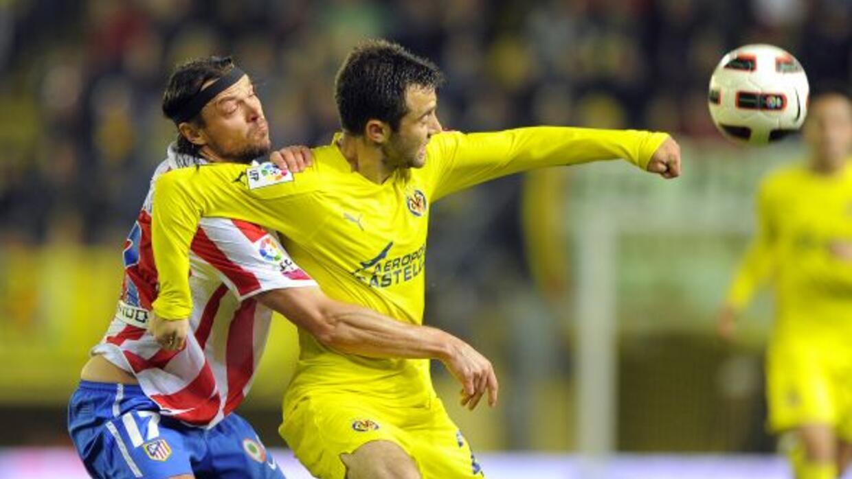 El italiano Giuseppe Rossi quería marcar otro gol en su cuenta personal.