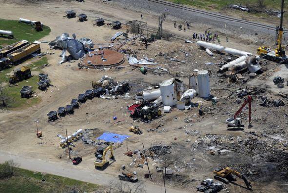 Explosión en el West Texas  La explosión de una planta de...