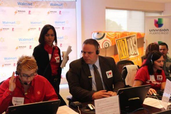 Desde Temprano en la mañana los voluntarios de distintas empresas espera...