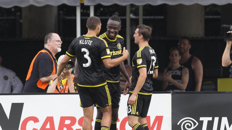 Kei Kamara celebra gol