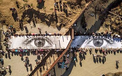 La exposición de 'Kikito' en el muro fronterizo llegó a su...