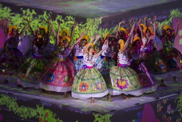 La cultura mexicana se hizo presente.
